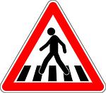 practicas de conducir paso de peatones