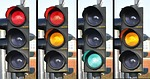 practicas de conducir semaforos