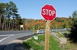 practicar señales de stop